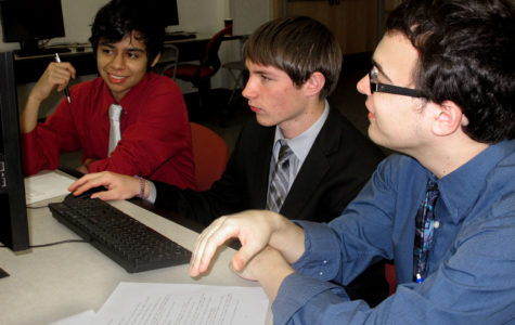 Computer Science team competes at UTD, gets 8th