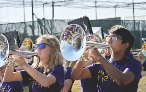 Band Performs at Marching Contest