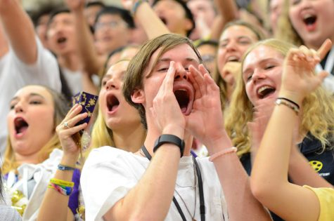 Rio-Themed Pep Rally Prepares Students For a Weekend of Festivities