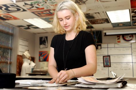 Senior Develops Passion For Art