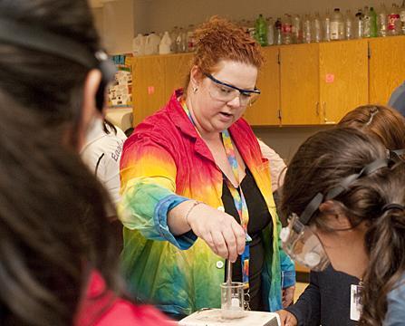 Chemistry Teacher Named Tech Titan of the Future