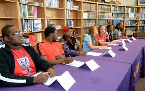 Seven Senior Athletes Sign with Colleges
