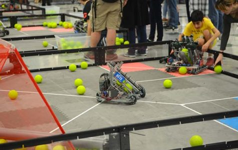 Robotics Excel at Berkner VEX Competition