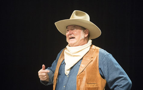 John Wayne Impressionist Visits The Black Box