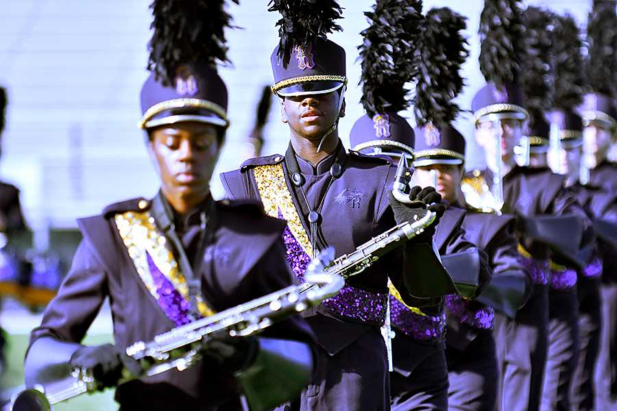 Golden Eagle Band Places Third at Desoto Competition