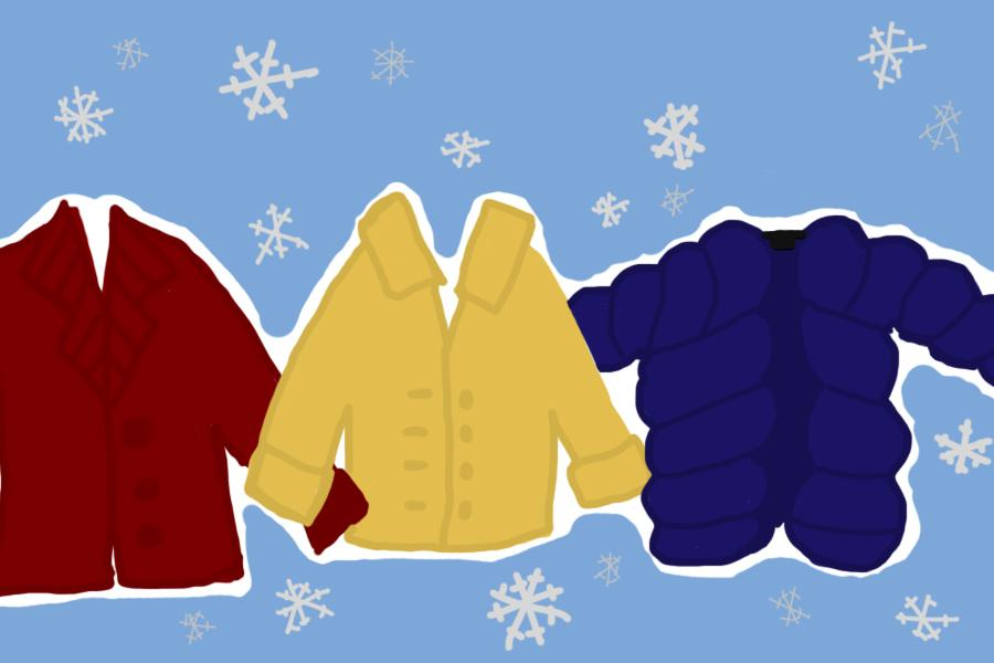 The Peer Mediators hosted a coat drive. Illustration by Emma Jean Shuemake