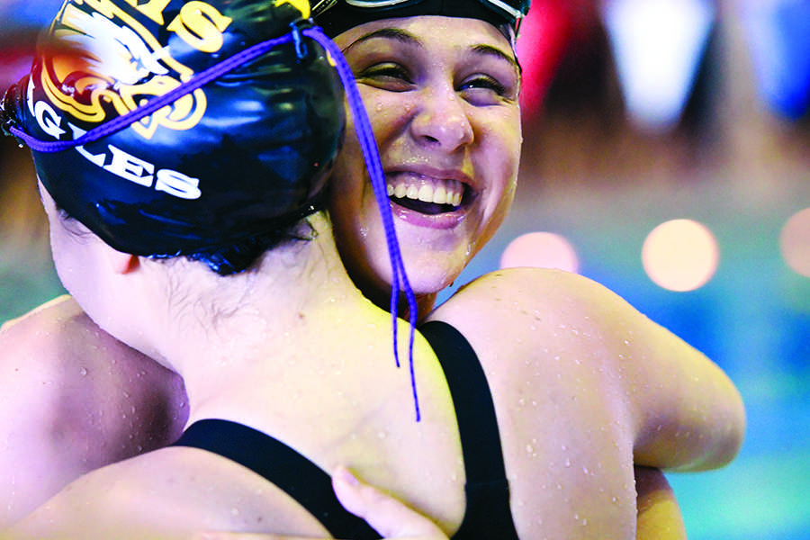Eagles Swim to Regionals