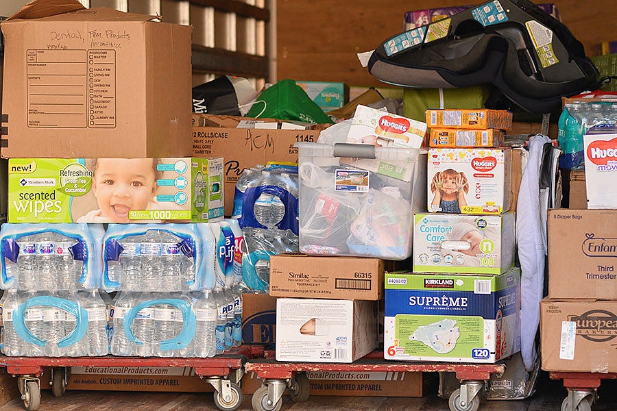 RISD Schools Collect Items for Hurricane Harvey Victims