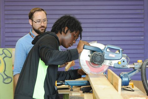 Tech Theatre Gets New Workshop
