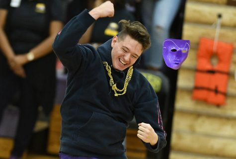 Freshman get a Separate Pep Rally