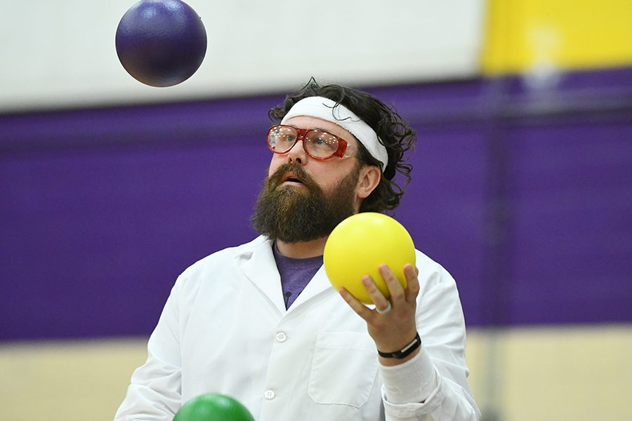 Student vs Staff Dodgeball Game Raises Money for Eagle Fund