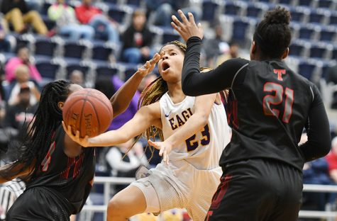Girls Basketball Falls to Unranked Tyler Lee