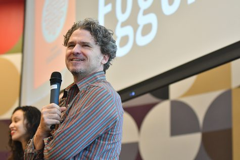 Richardson Reads Hosts Dave Eggers
