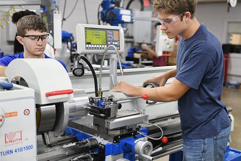 Robotics Magnet Gets Shop Overhall