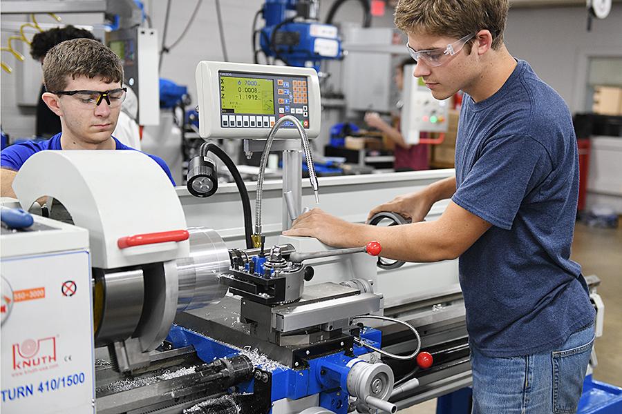 Robotics Magnet Gets Shop Overhall