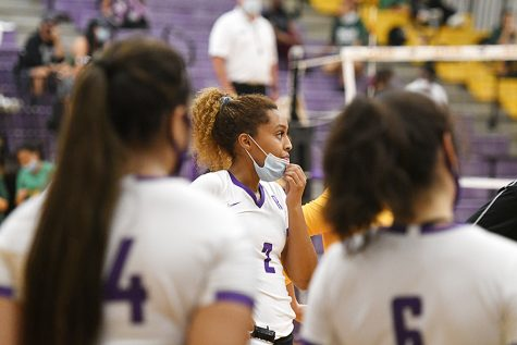 While Covid-19 has challenged the district to implement safety measures that make it possible for fall sports to begin on time, coaches and players have felt the impact of changes that the UIL has put in place. Talon Photo by Leila Saidane